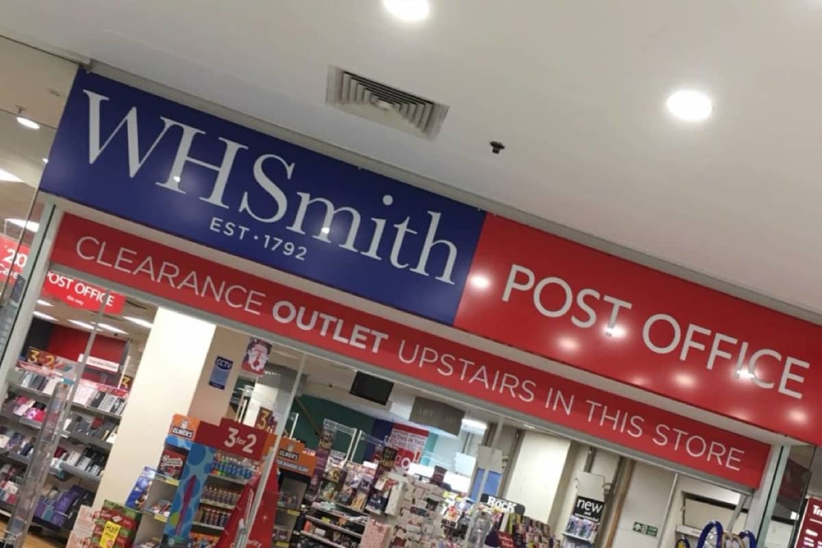 WHSmith Post Office
